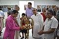 Biswatosh Sengupta Lighting Inaugural Lamp - 45th PAD Group Exhibition Inauguration - Kolkata 2019-06-01 1537.JPG