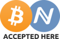 Bitcoin & Namecoin Accepted Here Sign.png