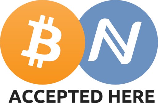 Bitcoin & Namecoin Accepted Here Sign