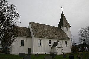 Bjørkelangen - Image: Bjørkelangen kirke 20071021 1