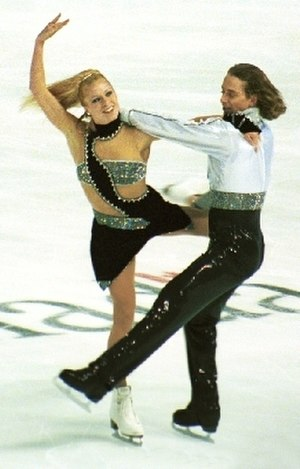 Victor Kraatz - Victor Kraatz with Shae-Lynn Bourne.