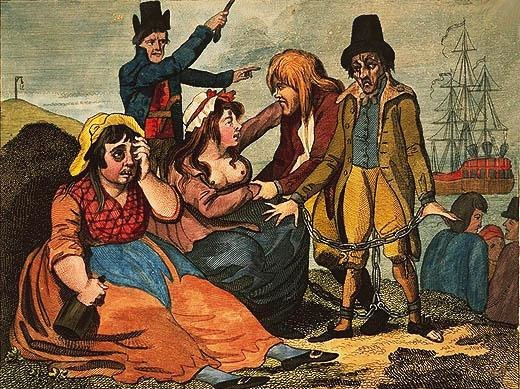Black-eyed Sue and Sweet Poll of Plymouth taking leave of their lovers who are going to Botany Bay.jpeg