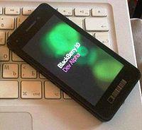 BlackBerry 10 Dev Alpha start-up screen.jpg