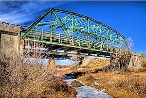 Black Squirrel Creek Bridge - Bridge in 2008
