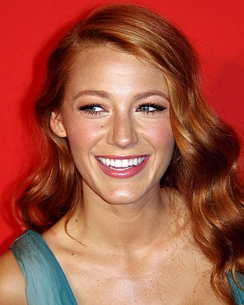 English: Blake Lively at the 2011 Time 100 gala.