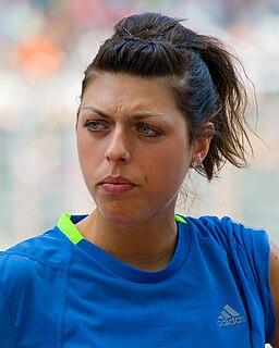 Blanka Vlašić Croatian high jumper