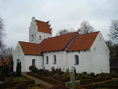 How to get to Blegind Kirke with public transit - About the place