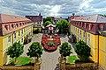 Blick aus dem Rokokosaal des Schlosses Kirchberg. 01.jpg