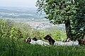 Blick vom Nordrand der Schwäbischen Alb, Weilheim Teck, Baden-Württemberg.jpg