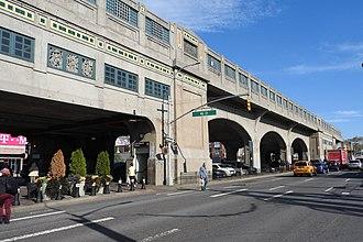 46th Street–Bliss Street (IRT Flushing Line) - South side