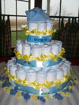 Baby shower - Diaper cake