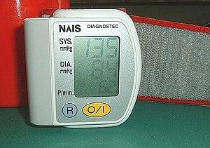 A sphygmomanometer, a device used for measurin...