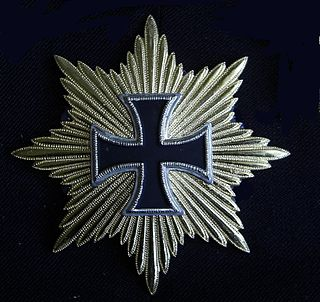 Star of the Grand Cross of the Iron Cross decoration
