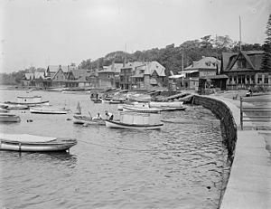 Boathouse Row - Boathouse Row, c. 1904-1912