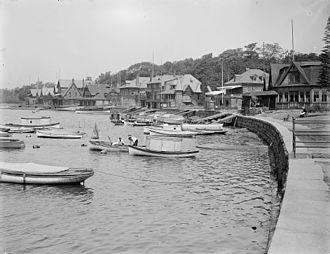 Boathouse Row - Boathouse Row, c. 1904-1912