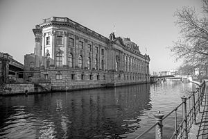 Bode Museum - The Bode Museum, part of the ensemble of Berlin Museums located on the UNESCO listed Museum Island