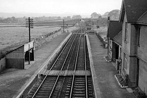 Bodfari - Bodfari had a railway station until 1962
