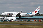 Boeing 737-8CX, Travel Service Airline JP7125968.jpg