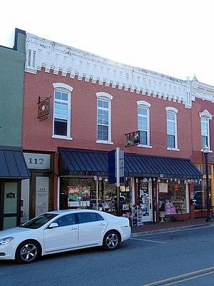 Downtown Bentonville - Bogart Hardware Building