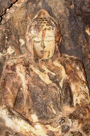 Tathāgatagarbha Sūtra - Statue of the Buddha at Bojjannakonda, Andhra Pradesh, India