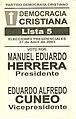 Boleta elecciones argentinas de 2003 - PDC.jpg