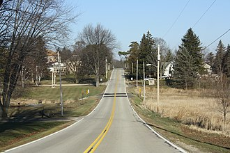 Boltonville, Wisconsin - Image: Boltonville Wisconsin Looking North