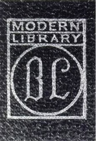 Boni & Liveright - First colophon used between 1917 and 1924.