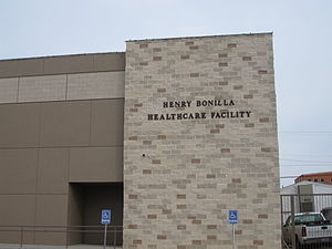 Henry Bonilla - The Henry Bonilla Healthcare Facility off Texas State Highway 359 South in Laredo, Texas