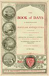 Book of Days — Title page, published by W.R.Chambers Publishers, 1869.jpg