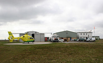 Boreham - Essex Air Ambulance operations at Boreham airfield