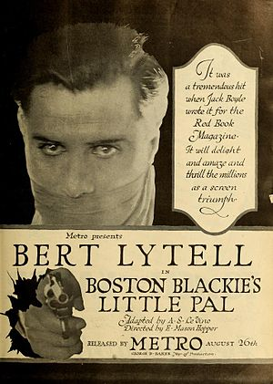 Bert Lytell - Boston Blackie's Little Pal (1918)