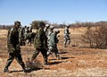 Botswana soldiers and U.S. Soldiers clear unexploded ordnance during Southern Accord 2012 at the Shoshong Range in Botswana Aug. 7, 2012 120807-Z-KC506-012.jpg