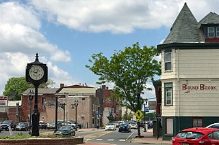Bound Brook, New Jersey Borough in New Jersey, United States