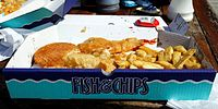 Box of fish 'n' chips Margate Kent England 2.jpg