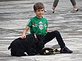 Boy with Dog - Parque Mexico - Condesa District - Mexico City - Mexico (15333791897).jpg