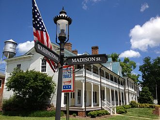 Boydton, Virginia - Boyd Tavern in Boydton, built 1790 and open for tours