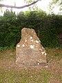 Bradpole, memorial to King Charles II's escape down Lee Lane - geograph.org.uk - 1364325.jpg