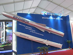 Brahmos and Brahmos-M size comparison