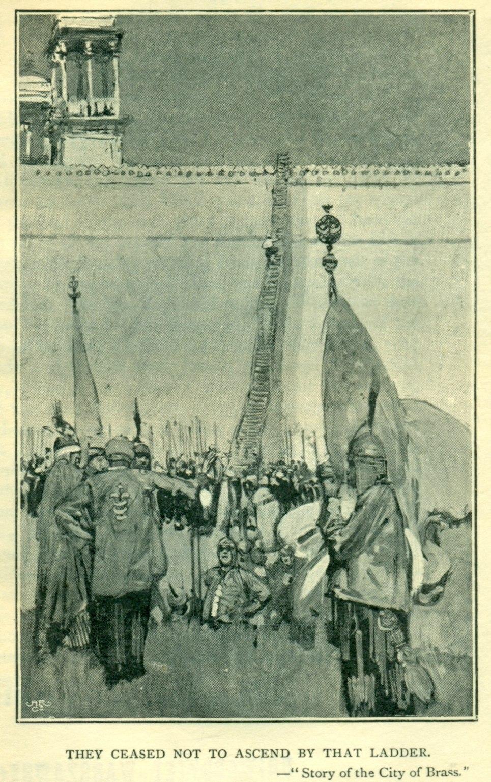 Brangwyn, Arabian Nights, Vol 4, 1896 (6)