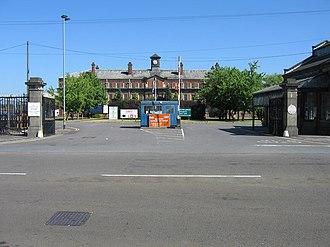 Branston (brand) - Branston Depot - the original factory of Branston Pickle; on Burton Road, Branston, Burton upon Trent, Staffordshire