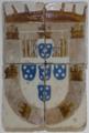 Brasão de D. Jaime I, Duque de Bragança (c. 1510) - Paço Ducal de Vila Viçosa (MNAz inv. 50 Az).png