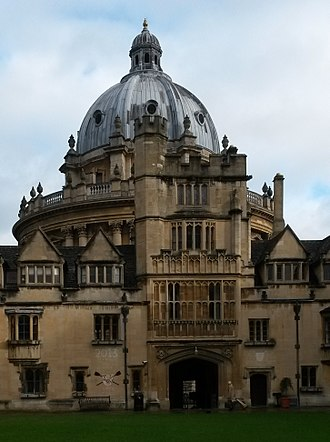 Brasenose College, Oxford - Image: Brasenose College Lodge (cropped)
