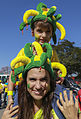 Brazil and Croatia match at the FIFA World Cup (2014-06-12; fans) 03.jpg