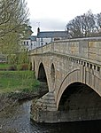 Weldon Bridge, over River Coquet and Wall to North-west