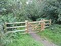 Bridle gate, Thornhill - geograph.org.uk - 1006769.jpg