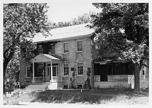 Brisbois House - The house in 1975