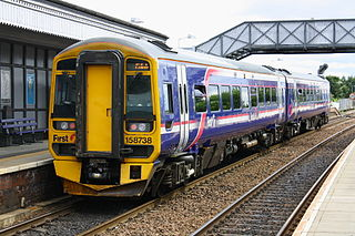 First ScotRail train operating company in the United Kingdom