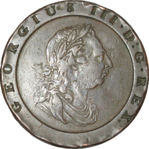 Twopence (British pre-decimal coin) - Image: British pre decimal twopence 1797 obverse