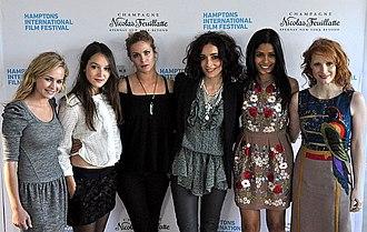 Britt Robertson - Britt Robertson, Anais Demoustier, Pihla Viitala, Zrinka Cvitešić, Freida Pinto and Jessica Chastain at Hamptons International Film Festival
