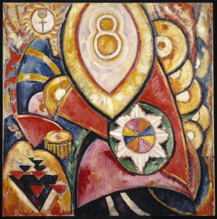 Brooklyn Museum - Painting No. 48 - Marsden Hartley - overall